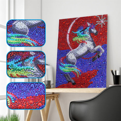 Magical Unicorn - Special Diamond Painting