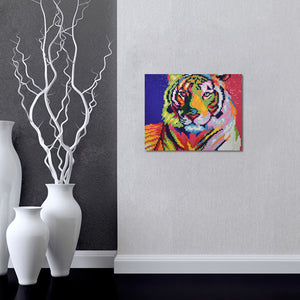 Colorful Tiger - Diamond Paintings