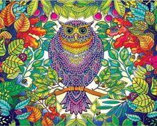 Load image into Gallery viewer, Owl In The Jungle - Special Diamond Painting