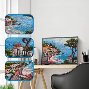 Lovely Sea landscape - Special Diamond Painting
