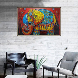 Adorable Royal Elephant - Special Diamond Painting