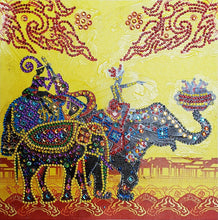 Load image into Gallery viewer, Indian Royal Elephant - Special Diamond Painting