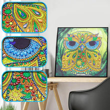 Load image into Gallery viewer, Elder Owl - Special Diamond Painting