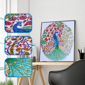 Beauty of Peacock - Special Diamond Painting