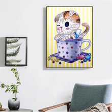 Load image into Gallery viewer, Winking Kitten - Special Diamond Painting