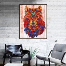 Load image into Gallery viewer, Ancient Mythical Wolf - Special Diamond Painting