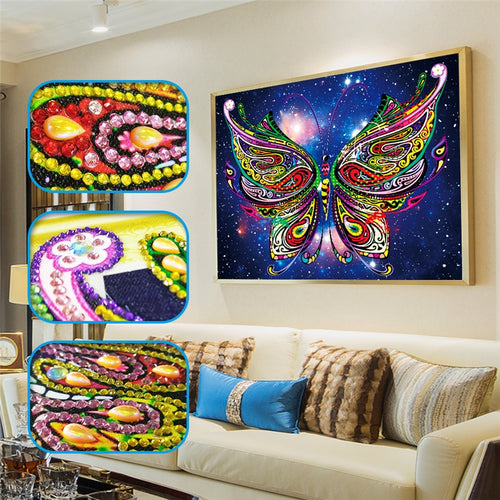 Abstract Butterfly - Special Diamond Painting