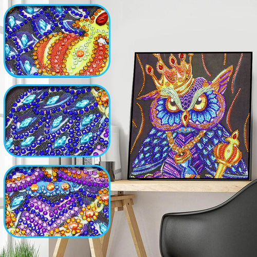 King Owl - Special Diamond Painting