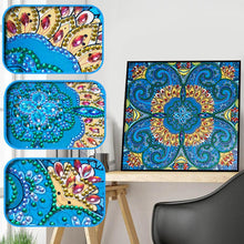 Load image into Gallery viewer, Blue Flower - Special Diamond Painting