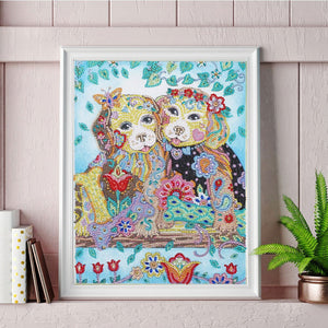 Adorable Puppies - Special Diamond Painting