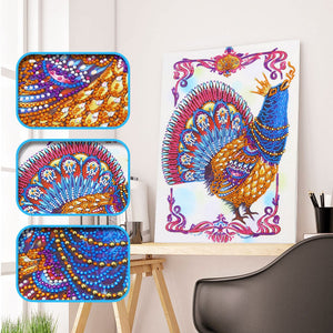 Crowing Roaster - Special Diamond Painting