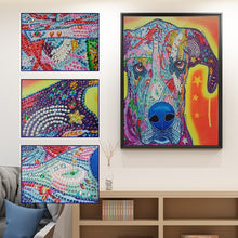 Load image into Gallery viewer, Abstract Dog - Special Diamond Painting