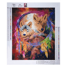 Load image into Gallery viewer, Wolf Crystal Emblem - Special Diamond Painting