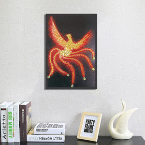 Bird of Fire - Special Diamond Painting