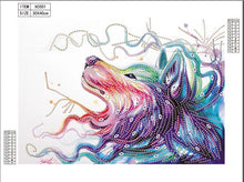 Load image into Gallery viewer, Wolf Head - Special Diamond Painting