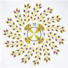Load image into Gallery viewer, Leaf Wall Clock - Special Diamond Painting