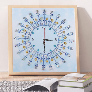 Classic Home Clock - Special Diamond Painting