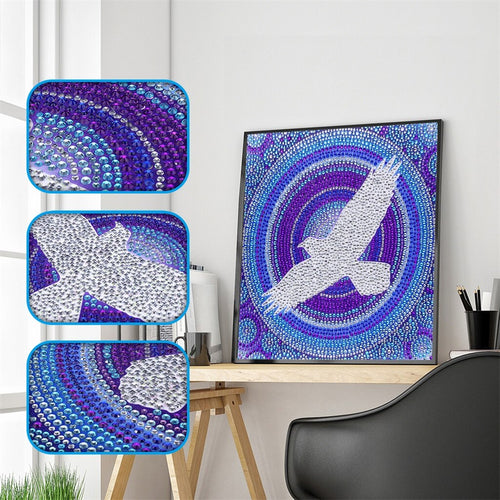 White Eagle - Special Diamond Painting
