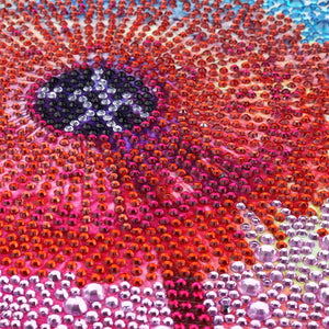 Colorful Dandelion - Special Diamond Painting