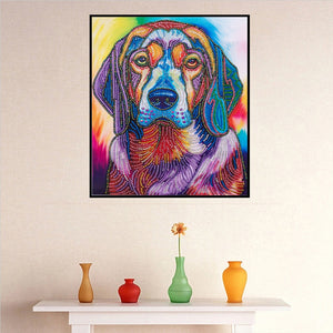 Loyal Dog - Special Diamond Painting