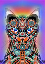 Load image into Gallery viewer, Abstract Cat - Special Diamond Painting