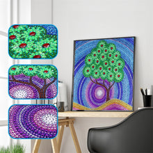 Load image into Gallery viewer, Green Tree Forest - Special Diamond Painting