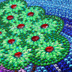 Green Tree Forest - Special Diamond Painting