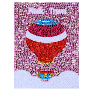 Colorful Hot Air Balloon - Special Diamond Painting
