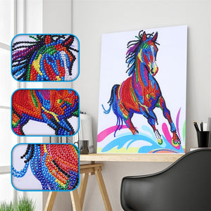 Horse & Dogs - Special Diamond Painting