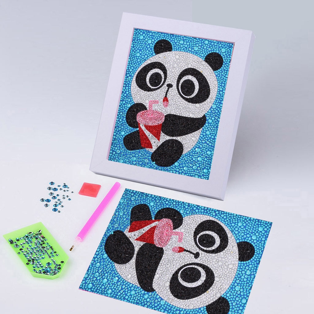Baby Panda Special Diamond Painting