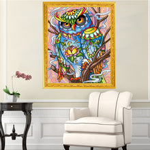 Load image into Gallery viewer, Abstract Owl - Special Diamond Painting