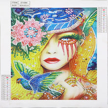 Load image into Gallery viewer, Big Eye Girl - Special Diamond Painting