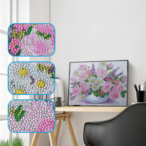 Vase of Flowers - Special Diamond Painting