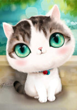 Load image into Gallery viewer, Adorable Little Cat with Big Eyes