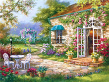 Load image into Gallery viewer, Graceful House Covered in Flowers