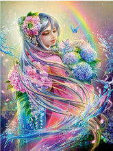 Load image into Gallery viewer, Gorgeous Colorful Fairy Princess Diamond Painting