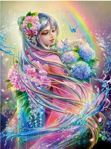 Gorgeous Colorful Fairy Princess Diamond Painting