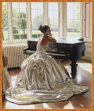 Load image into Gallery viewer, Waiting Bride and Piano Painting Kit for Adults