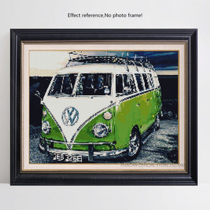Volkswagen diamond art