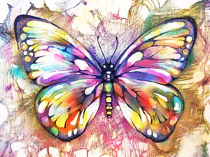 Big Colorful Butterfly Diamond Painting Kits