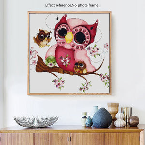 Mother Day Owl Paintings