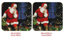 Load image into Gallery viewer, Santa & Puppies at Christmas