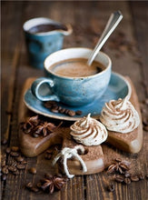 Load image into Gallery viewer, Beautiful Coffee Cup with Chocolate