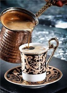 Beautiful Coffee Cup with Chocolate