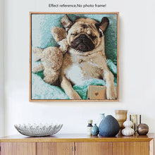Load image into Gallery viewer, Cute Angry Dog Diamonds Painting