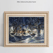 Load image into Gallery viewer, Beautiful Snowy House & Trees