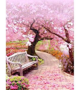 Graceful Pink Blossom Trees