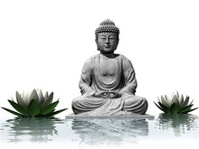 Load image into Gallery viewer, Beautiful Gautam Buddha DIY Diamond Art Kit
