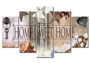home sweet home diamond painting wall art