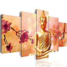 Load image into Gallery viewer, Gautam Budha 5 Piece Diamond Painting for your Wall